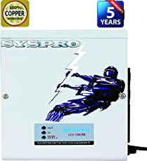 SYSPRO Commander Voltage Stabilizer Merk-1 for LED Upto 45 Inch with (100% Copper Winding)(170-280 V)