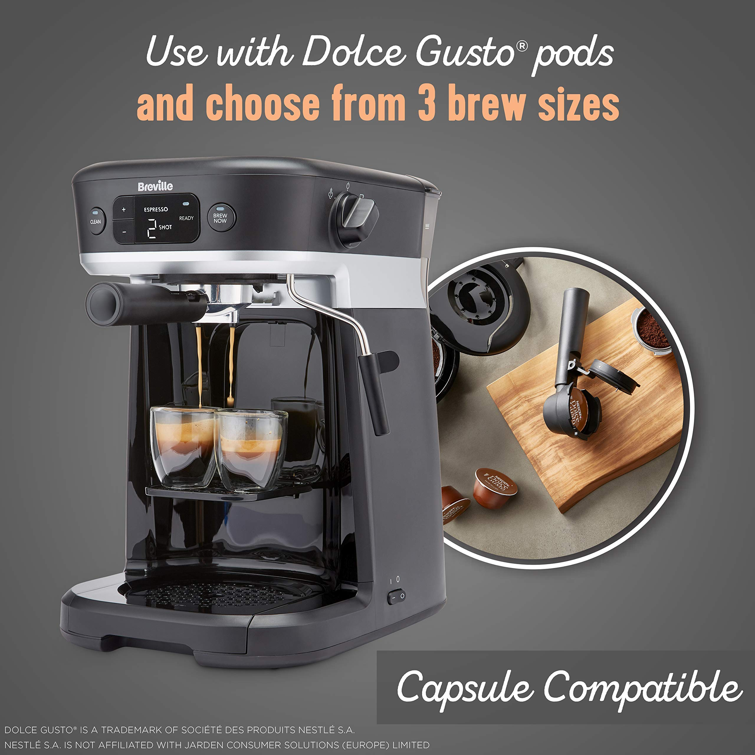 Breville All-in-One Coffee House, Espresso, Filter and ...
