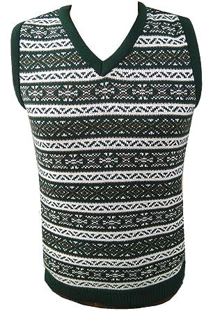 London Knitwear Gallery Aztec Retro Vintage Knitwear Tanktop ...