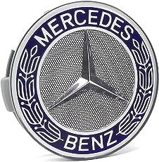 Mercedes-Benz Blue Classic Logo Wheel Center Cap