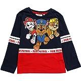 Paw Patrol Chase Marshall Rubble - Camiseta de manga larga para niño