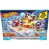 Hot Wheels Advent Calendar with Mini Cars Toy Mattel