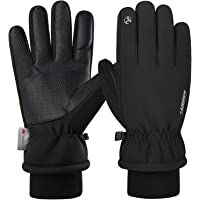 Anqier Thermal Gloves for Winter, -15℉(-26℃) Touch Screen Ski Gloves Mens Gloves Ladies Gloves for Cycling Running…