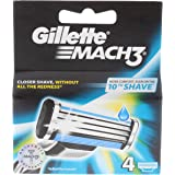 GILLETTE Mach3 Ricarica X 4 Pezzi - Lame E Rasoi