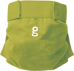 gNappies Little gPants Stoffwindel grün, Größe M (5-11 kg)