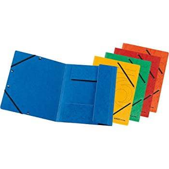 5/Star 926257/Square Cut Folders with 3/Flaps with Elastic Band