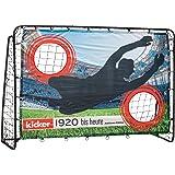 HUDORA fotboll-tränare med trollstav | Kicker-jubileum & Standard Edition | trädgård fotbollstång (213 x 152 x 76 cm) med lät