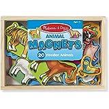 20 قطعة مغناطيس باشكال حيوانات خشبية في صندوق من ميليسا اند دوغ