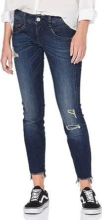 Herrlicher Gila Slim Cropped Jeans Donna