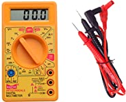 Hao Yue D830D Digital Multimeter LCD AC DC Measuring Voltage Current (not for professional use) Colour may vary