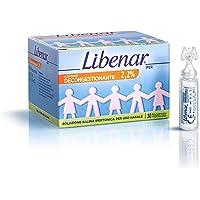 Liberar azione decongestionante 2,2%, soluzione salina ipertonica per uso nasale, 30 flaconcini monouso