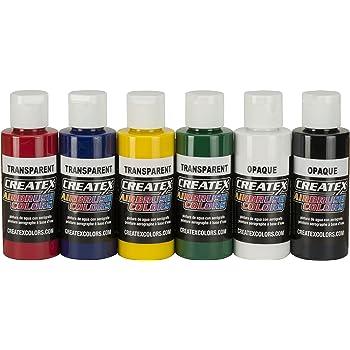 Peinture aérographe - Createx Primaire Set 6 x 60ml 5801