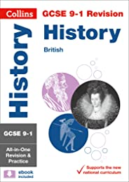 Grade 9-1 History (British) All-in-One Complete Revision and Practice (with free flashcard download)