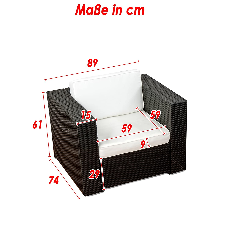 Amazon.de: XINRO (1er) Premium Lounge Sessel - Lounge Sofa ...
