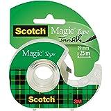 Scotch Tape 1 Muur Veilige Mat Beschermt Muur Magisch-19mmx25m 19 mm x 25 m Transparant