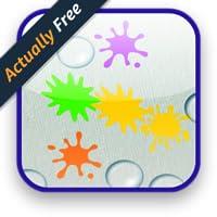 Kids Color Paint Splat Bubbles