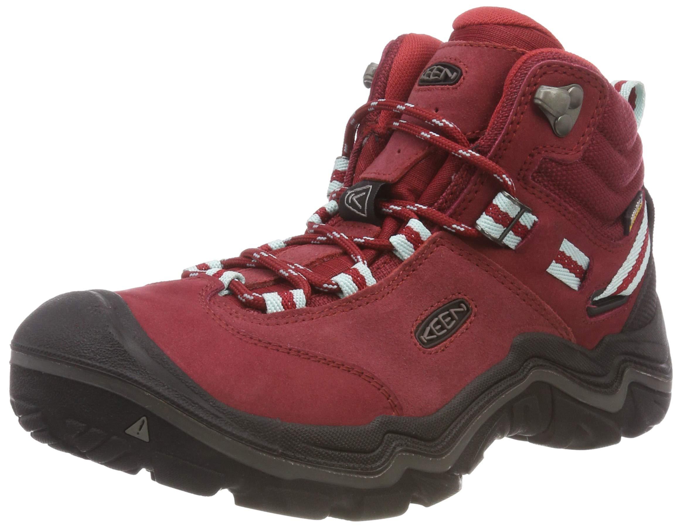 KEEN Women's Wanderer Waterproof Mid High Rise Hiking Shoes, 8.5 UK 1
