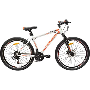 Hercules Roadeo A50 26T 21 Speed Premium Geared Cycle(Stone White)