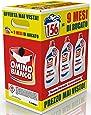 Omino Bianco Detersivo Lavatrice Igienizzante Liquido, Igienizza i Capi e Rimuove Germi e Batteri, Formato Convenienza, 156 Lavaggi, 2600 ml x 3 Confezioni