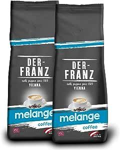 Der Franz, caffè Melange UTZ, macinato, 2 x 500 g