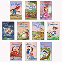 Fairy Tales Story Books for Kids (Pack of 10) | Illustrated Stories | 160 Total Pages