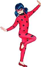 Ladybug–Costume Miraculous, taglia L, colore: rosso, Rubie' s Spain 620794-l