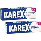 KAREX Zahnpasta 2 x 75ml - Moderner Karies-Schutz ohne Fluorid, auch bei Speichelmangel