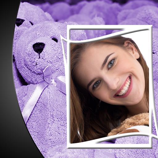 Teddybär-Fotorahmen -
