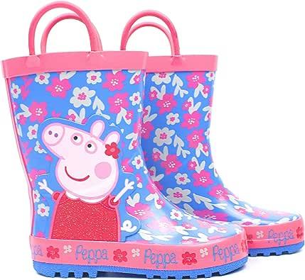 Peppa Pig Stivali di gomma per bambini, motivo: George Pig