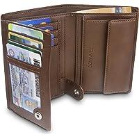 """TRAVANDO ® Portefeuille Homme """"Dublin"""" avec Blocage RFID - Porte-Monnaie Noir Classique, Porte-Cartes Format Portrait…"""