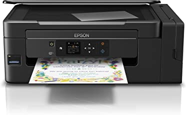 Epson EcoTank ET-2650 All-In-One nachfüllbares 3-in-1 Tintenstrahl Multifunktionsgerät (Kopierer, Scanner, Drucker, WiFi, Display, USB 2.0) große Tintenbehälter, hohe Reichweite, niedrige Seitenkosten