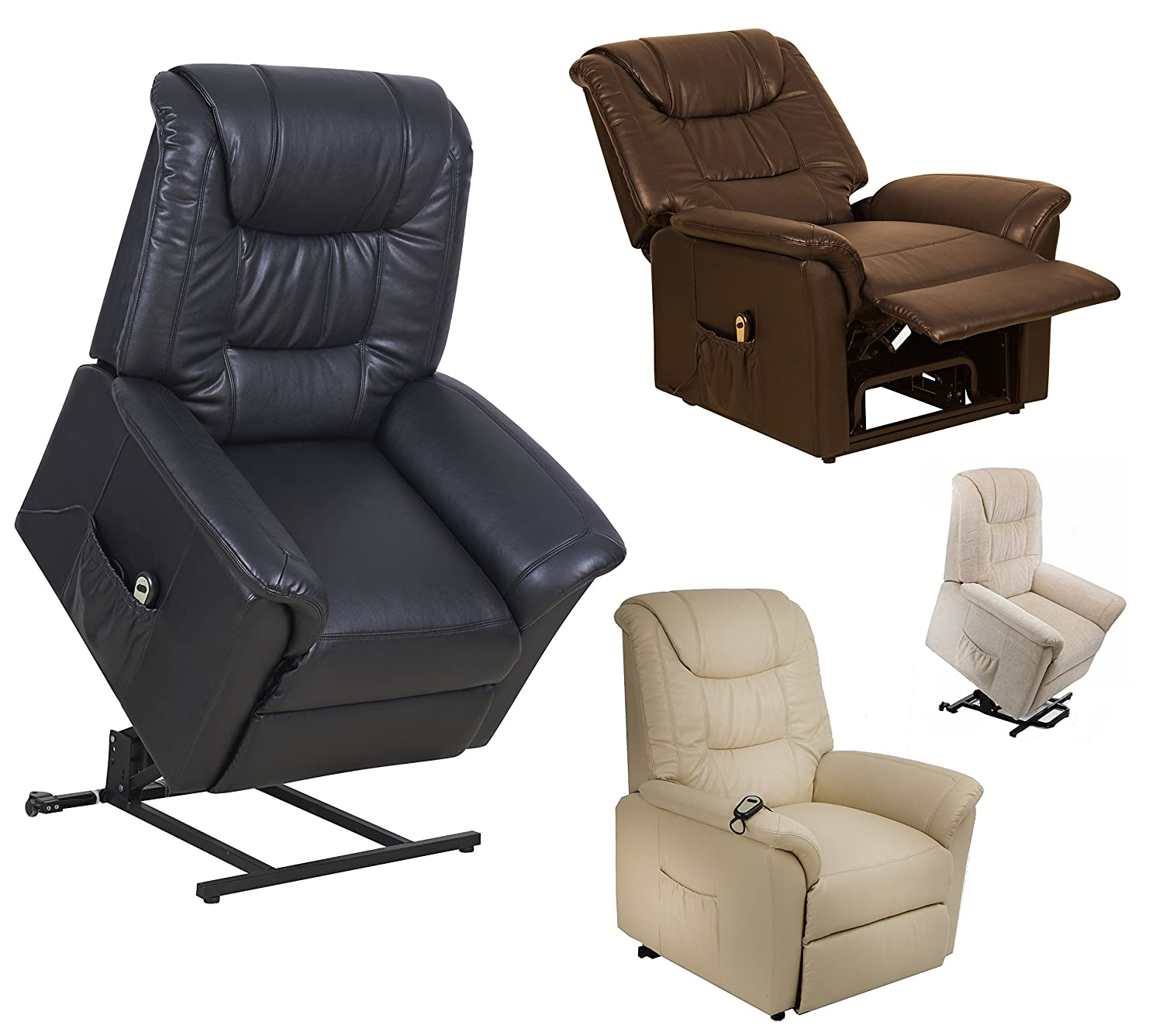 Riva Dual motor electric riser and recliner chair - choice of colours (Brown) rise and recline mobility lift chair Amazon.co.uk Kitchen u0026 Home  sc 1 st  Amazon UK & Riva Dual motor electric riser and recliner chair - choice of ... islam-shia.org