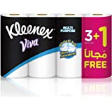 Kleenex Kitchen Towel - Pack of 4 Rolls, 90 Sheets x 2 Ply