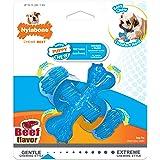 Nylabone Kauwspeelgoed voor puppy's, tanden, botten van rundvlees, smaak hond kauwen