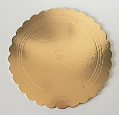 """RELIABLE PACKAGING PREMIUM CAKE BASE BOARD -9"""" - pack of 4"""