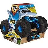 Monster Jam 6056227 Officiële Megalodon Storm All-Terrain Afstandsbediening Monster Truck, 1:15 Schaal, Grijs, 25.4 x 38.1 x