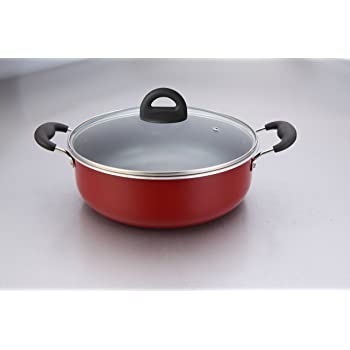 Impex Ceramic Non Stick Biriyani Pot-ISP 3615, 36 Cm, 15 Litres