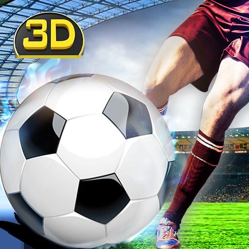 Flick Fußball Freistoß Schuss (Fußball-simulator)