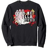Netflix La Casa De Papel Bella Ciao Paint Splatter Sweatshirt