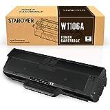 STAROVER Compatibile per Cartucce Toner HP 106A W1106A Sostituzione per HP Laser 107a 107w 107r Stampante HP Laser MFP 135a 1