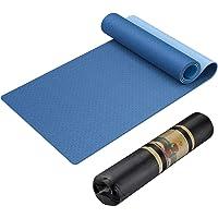Tappetino Yoga Antiscivolo, Tappetino Palestra Fitness TPE Ecologico con Zaino e Spallacci, Tappeto Yoga Mat per Pilates…
