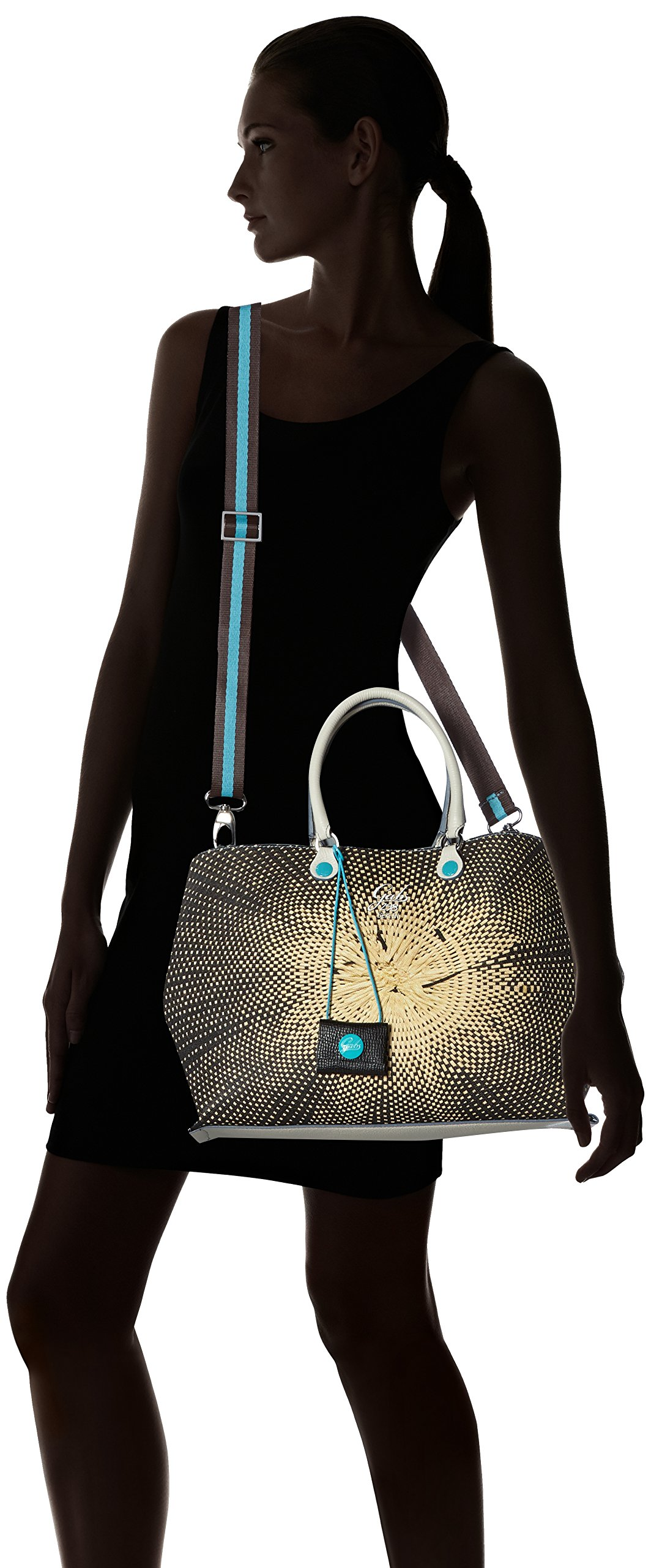 83d5c41da4a66d GABS Tania Tg M - Shopping Studio Print + Vela, Borsa Donna - Face Shop