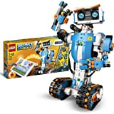 LEGOBOOSTToolboxCreativa,KitdiRoboticaperRagazzi,ModellodaCostruire5in1ControllatoviaAppconRobotGiocattol