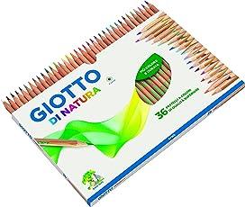 Giotto 240800 - Astuccio di Natura 36 Pastelli Colorati