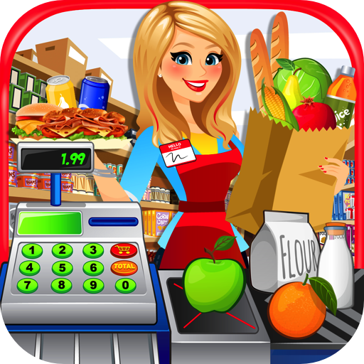 Supermarket Kitchen - Grocery Store, Cash Register & Checkout Games FREE