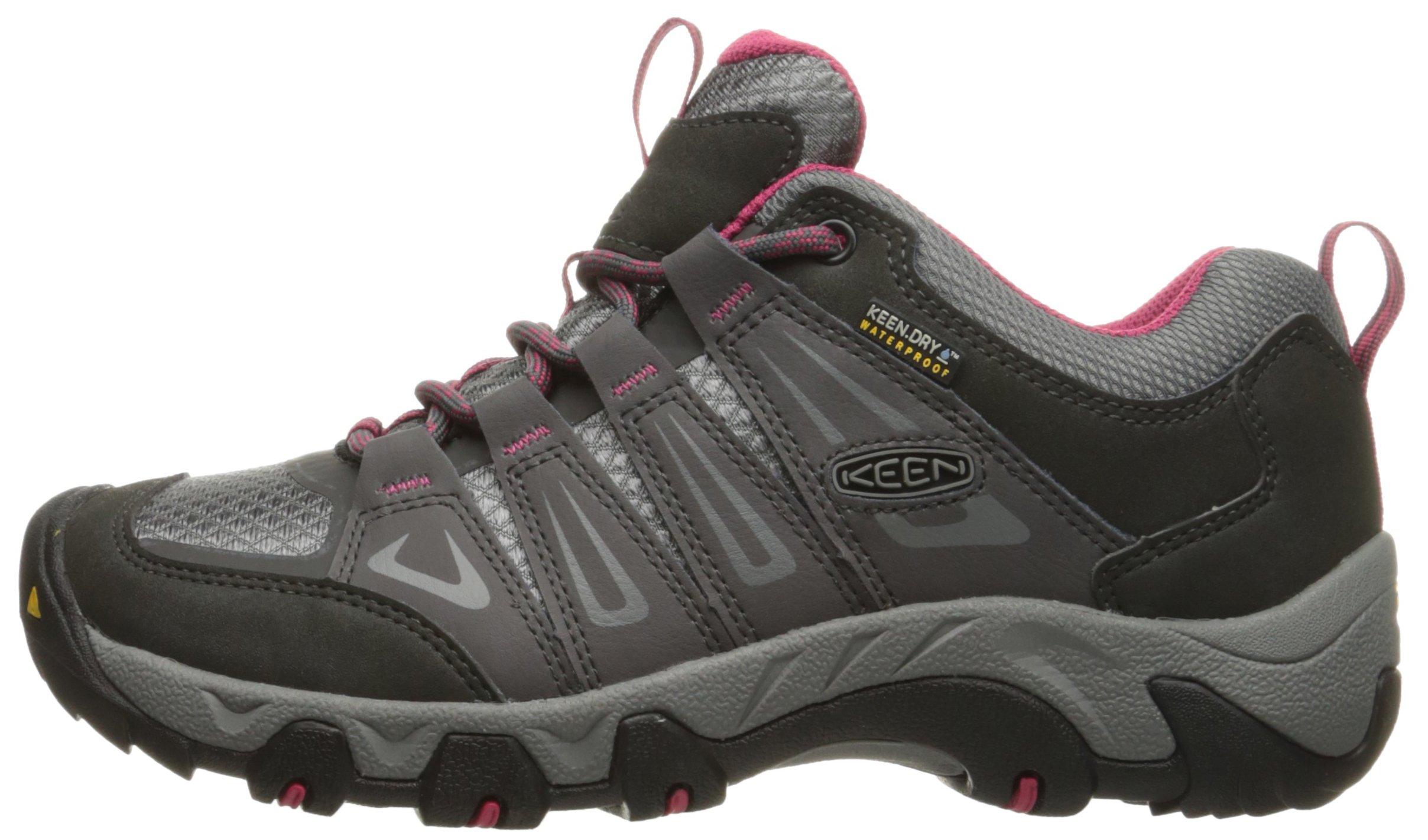 KEEN Women's Oakridge Wp Low Rise Hiking Shoes 5