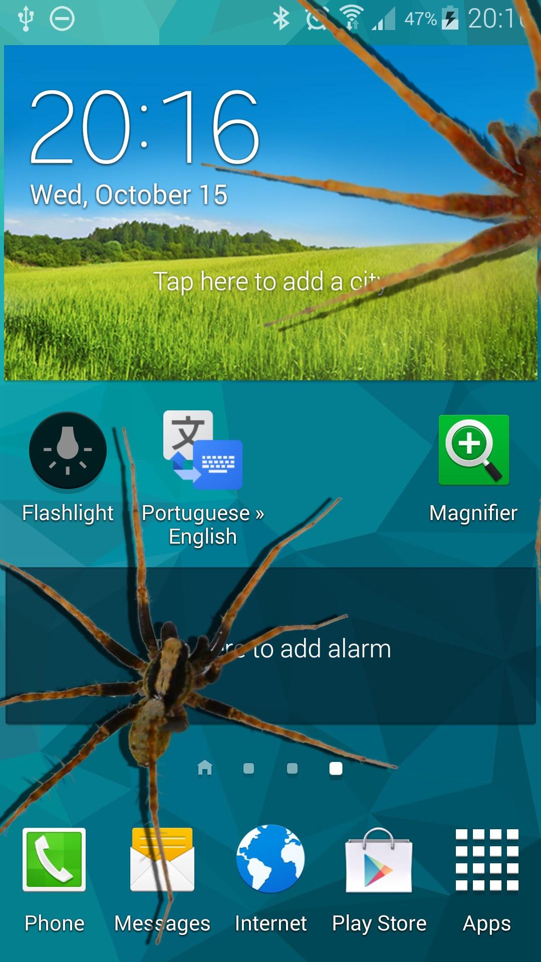 Spinne im Telefon Witz: Amazon.de: Apps für Android