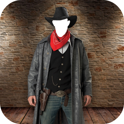 Cowboy Man Suit Photo Maker