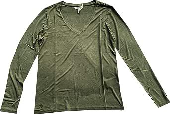 Herrlicher Esme Jersey Siro Viskose T-Shirt Donna