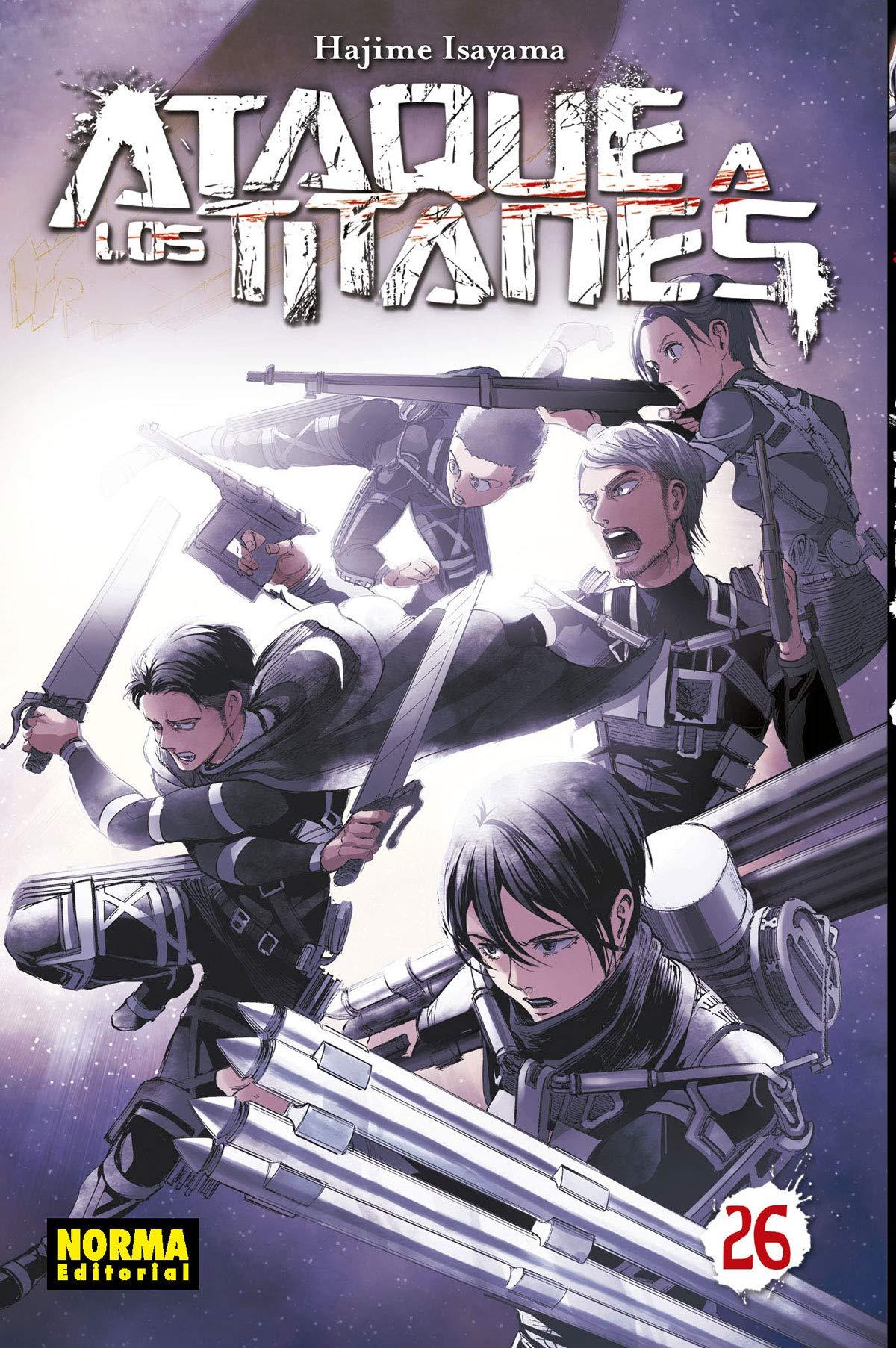 Ataque a los Titanes anime